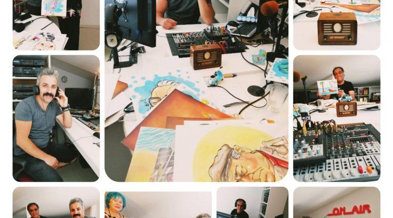 """Kuşadası 105 FM Radyosunda """"Yaşamın Renkleri"""" programının canlı yayın konuğu oldum."""