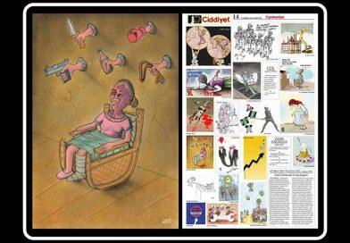 Basında Yayınlanan Karikatürlerim