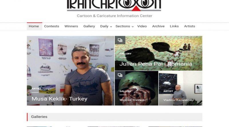 irancartoon.com bana özel bir sayfa oluşturdu